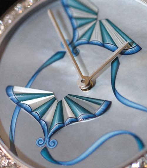 Peinture miniature - Haute horlogerie